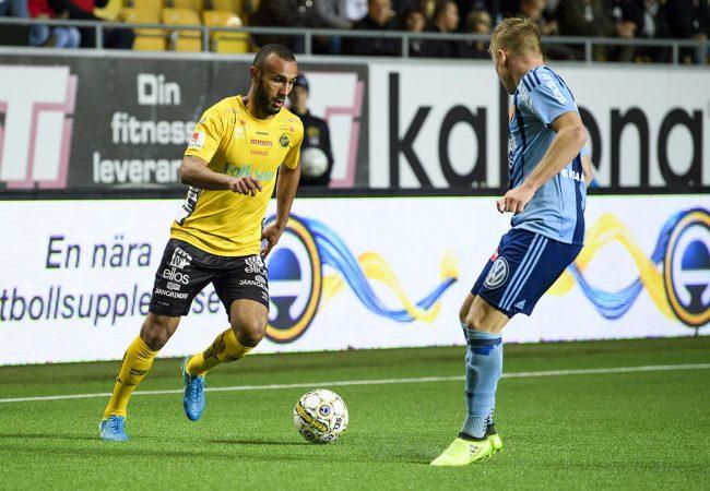 170919 Elfsborgs Issam Jebali under fotbollsmatchen i Allsvenskan mellan Elfsborg och Djurgården den 19 september 2017 i Borås. Foto: JÖRGEN JARNBERGER / BILDBYRÅN / Kod JJ / Cop 112