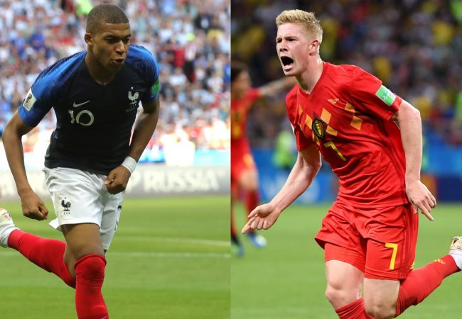 France vs Belgium World Cup 10.07.2018