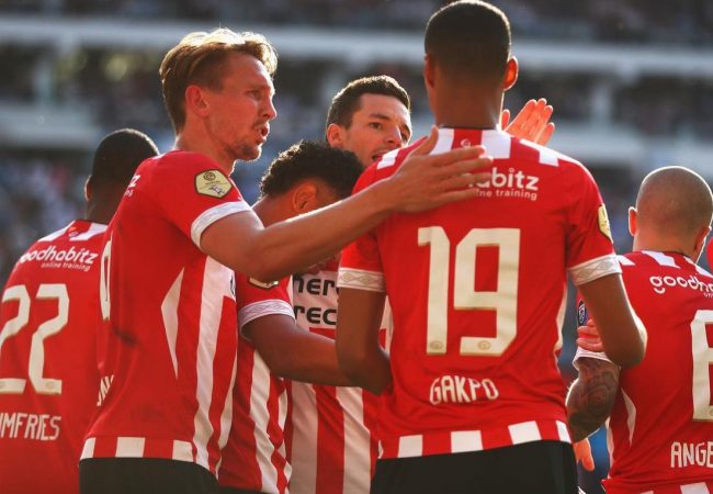 PSV hosts Basel on July 23 or 24, and the return game is in Switzerland on July 30 or 31. (April 2019 file photo)