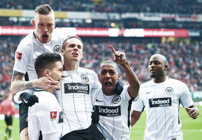 Eintracht Frankfurt vs Standard Liege Europa League 24.10.2019