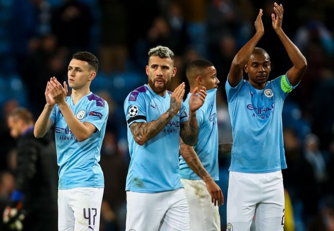 Manchester City vs Atalanta Champions League 22.10.2019